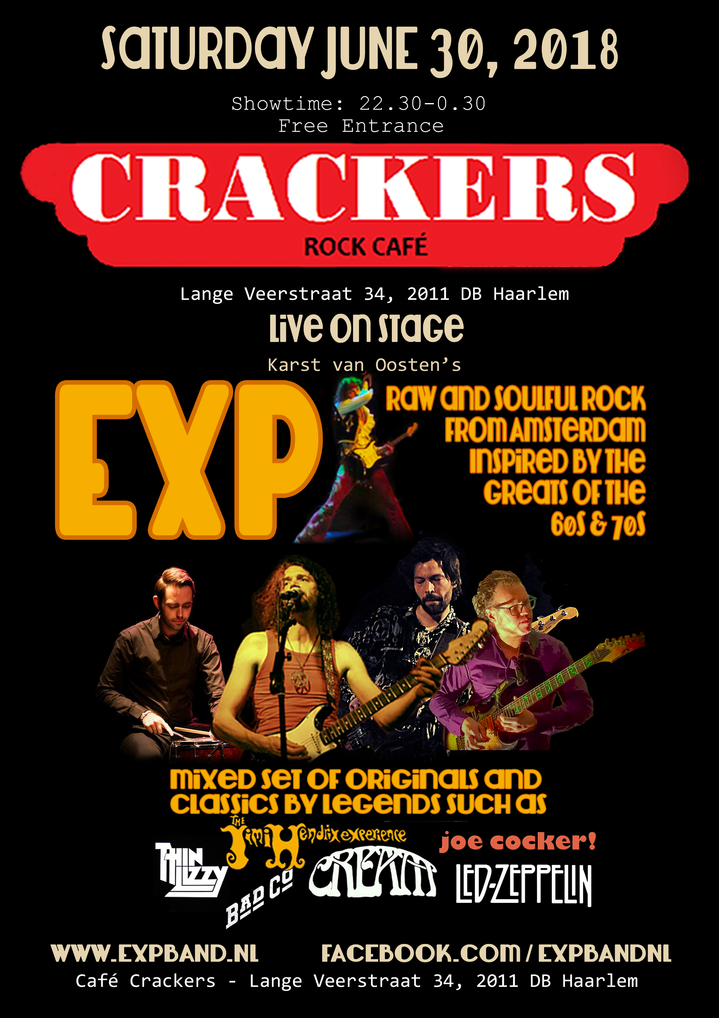 EXP Cafe Crackers